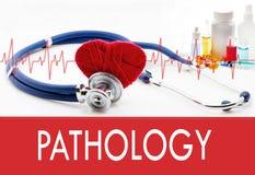 Vård- bevakning, patologi royaltyfria foton