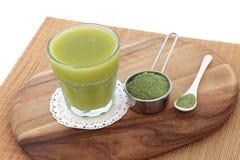 Vård- drink för vetegräs royaltyfri bild