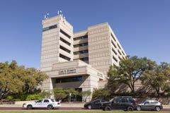 Vård- vetenskapsmitt för UNT i Fort Worth, TX, USA arkivbilder