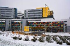 Vårdcentral för McGill universitet Arkivfoto