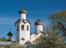 Våren är i Staraya Russa Arkivbild