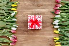 Våren blommar på brädet Royaltyfri Fotografi