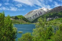 Våren i Abruzzoen parkerar royaltyfria bilder