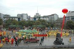 Vårfestivalen i Nanchang fotografering för bildbyråer