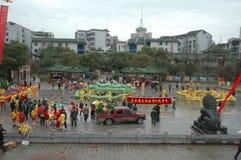 Vårfestivalen i Nanchang arkivfoto