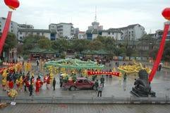 Vårfestivalen i Nanchang arkivfoton