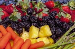 Vårfrukter och grönsaker Arkivbilder