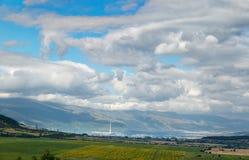 Vårlandskap från Bulgarien Fotografering för Bildbyråer