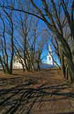 Vårlandskap i Veliky Novgorod Royaltyfria Foton