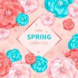 Vårsamlingsbakgrund Arkivbilder