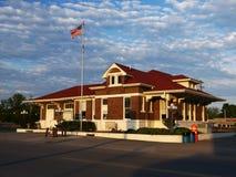 Vårstad, Tennessee Depot Royaltyfria Bilder