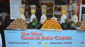 Vårt lopp till Indien till tillståndet av Goa stock video