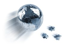 vårt planet sparar royaltyfri illustrationer