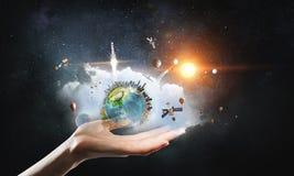 vårt skydda världen Arkivfoton