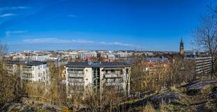 VårTurku cityscape Royaltyfri Bild
