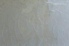 Våt cementtextur i byggnadskonstruktionsplats Royaltyfri Fotografi