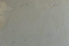 Våt cementtextur i byggnadskonstruktionsplats Arkivbild