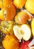 våt frukt Arkivbild