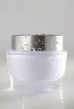 våt fuktighetsbevarande hudkräm Royaltyfri Fotografi