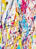 Våt målarfärg Fotografering för Bildbyråer