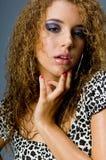 Våt modemodell Royaltyfri Foto