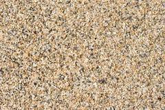 våt sand Royaltyfria Bilder