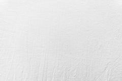 Våt skrynklig sänglinnetextur för vit Arkivfoton