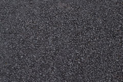 Våt svart asfalt textur Royaltyfri Bild