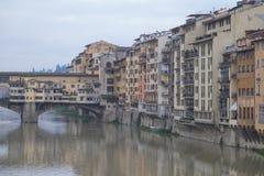 Våta Florence Fotografering för Bildbyråer