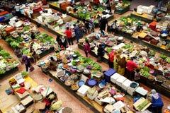 våta torra marknader Arkivfoton