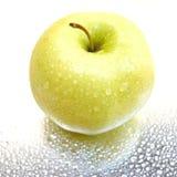 vått äpple Royaltyfria Foton