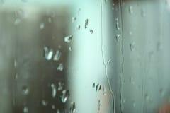 Vått exponeringsglas på en grå bakgrund inom fotografering för bildbyråer