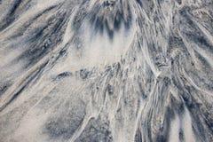 Vått sandabstrakt begrepp Royaltyfri Bild