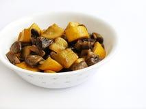 Végétarien organique frit par Stir   Image stock