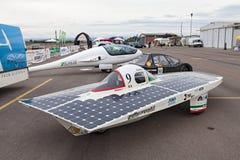 Véhicule à énergie solaire italien Photos libres de droits