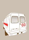 Véhicule à l'ambulance illustration libre de droits