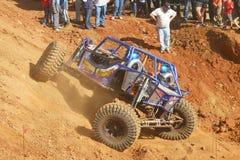 Véhicule à quatre roues de direction de Mazing rampant dans une meilleure position Photos stock