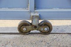 Véhicule à roues de porte Images libres de droits