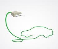Véhicule électrique abstrait Photo libre de droits