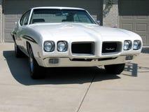 Véhicule 1970 d'exposition de Pontiac GTO Photographie stock