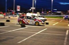 Véhicule 2 de rassemblement de Subaru Impreza WRX Photos stock