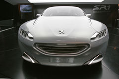 Véhicule 2010 de concept de Peugeot SR1 Images libres de droits