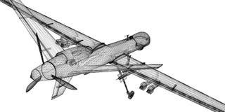 Véhicule aérien téléguidé (UAV) photographie stock libre de droits