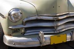 Véhicule américain classique au Cuba Images stock