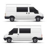 Véhicule automatique blanc de vecteur Photos stock