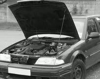 Véhicule avec l'engine Images stock