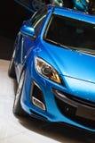 Véhicule bleu Images stock