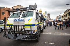 Véhicule blindé de transport de troupes de Nyala Photographie stock
