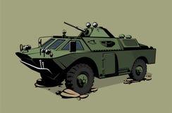 Véhicule blindé de transport de troupes Photos libres de droits