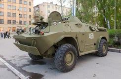 Véhicule BRDM-2 de Reconnaissance-patrouille images stock